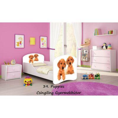 DREAM leesésgátlós gyerekágy - 3 méretben: 39 Puppies KUTYUSOK