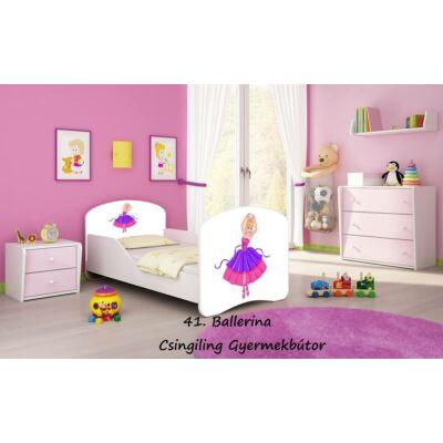 """""""DREAM"""" leesésgátlós gyerekágy - 3 méretben: 41 Ballerina"""