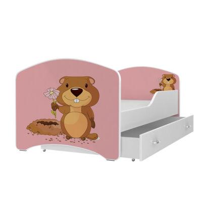 IGOR leesésgátlós gyerekágy ágyneműtartóval - 3 méretben: 03-as HÓD
