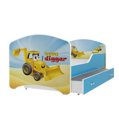 """""""IGOR"""" leesésgátlós gyerekágy ágyneműtartóval - 3 méretben: 04-es"""
