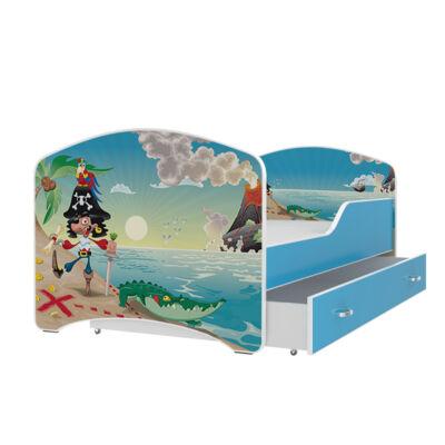 """""""IGOR"""" leesésgátlós gyerekágy ágyneműtartóval - 3 méretben: 05-ös"""