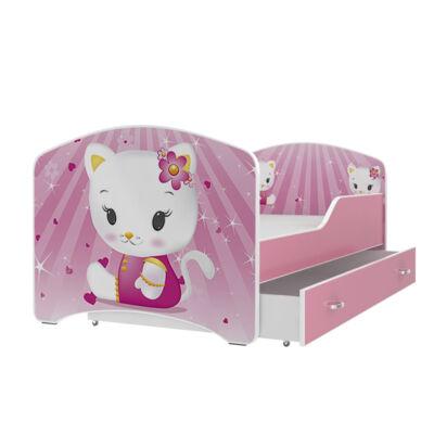"""""""IGOR"""" leesésgátlós gyerekágy ágyneműtartóval - 3 méretben: 08-as"""