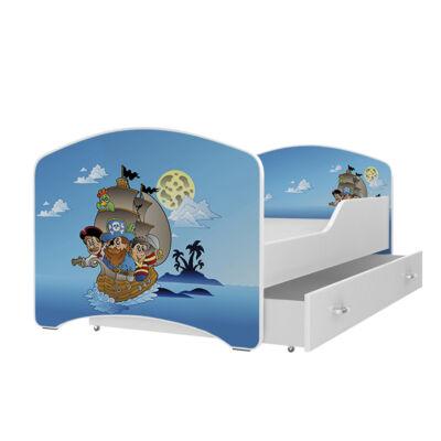 """""""IGOR"""" leesésgátlós gyerekágy ágyneműtartóval - 3 méretben: 12-es"""
