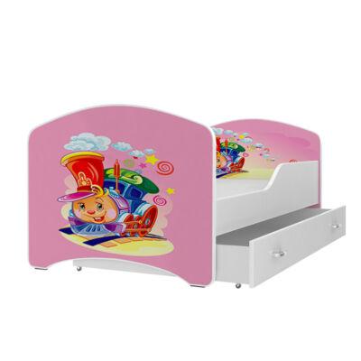 """""""IGOR"""" leesésgátlós gyerekágy ágyneműtartóval - 3 méretben: 14-es"""