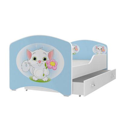 """""""IGOR"""" leesésgátlós gyerekágy ágyneműtartóval - 3 méretben: 16-os"""