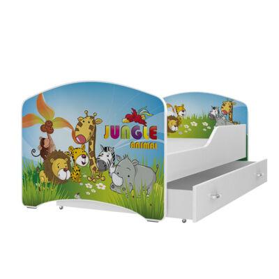"""""""IGOR"""" leesésgátlós gyerekágy ágyneműtartóval - 3 méretben: 21-es"""