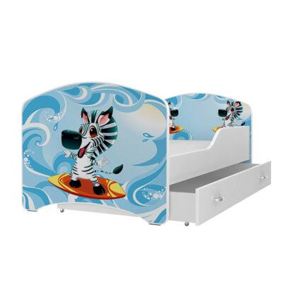 """""""IGOR"""" leesésgátlós gyerekágy ágyneműtartóval - 3 méretben: 22-es"""