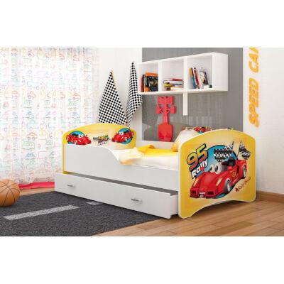 """""""IGOR"""" leesésgátlós gyerekágy ágyneműtartóval - 3 méretben: 24-es"""