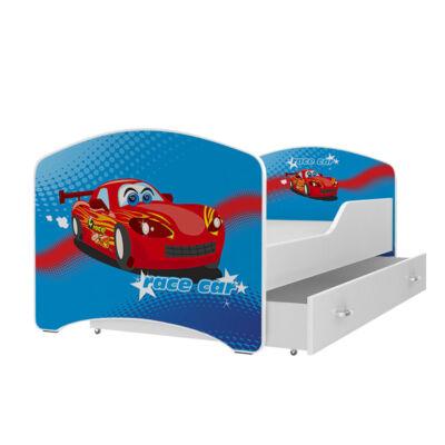 IGOR leesésgátlós gyerekágy ágyneműtartóval - 3 méretben: 35-ös VERDÁS JELLEGŰ