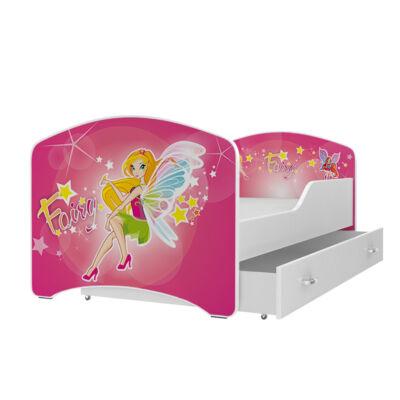 """""""IGOR"""" leesésgátlós gyerekágy ágyneműtartóval - 3 méretben: 40-es"""