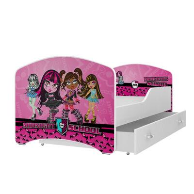 IGOR leesésgátlós gyerekágy ágyneműtartóval - 3 méretben: 42-es ÉJFÉLI SULI