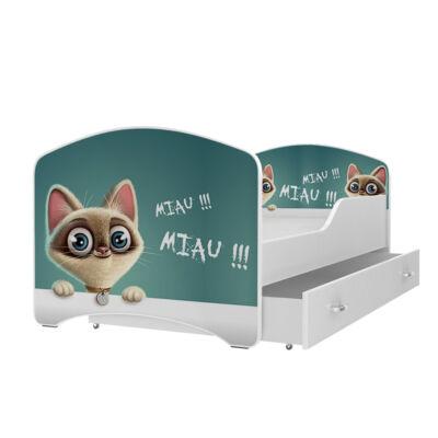 """""""IGOR"""" leesésgátlós gyerekágy ágyneműtartóval - 3 méretben: 45-ös"""
