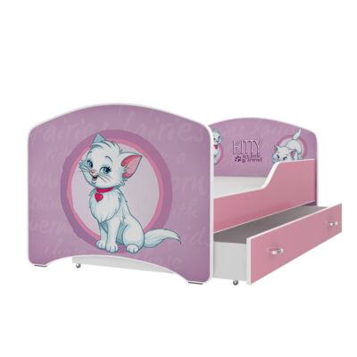 """""""IGOR"""" leesésgátlós gyerekágy ágyneműtartóval - 3 méretben: 50-es"""