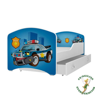 """""""IGOR"""" leesésgátlós gyerekágy ágyneműtartóval - 3 méretben: 56-os"""