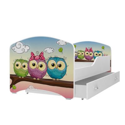 IGOR leesésgátlós gyerekágy ágyneműtartóval - 3 méretben: 59-es BAGLYOK