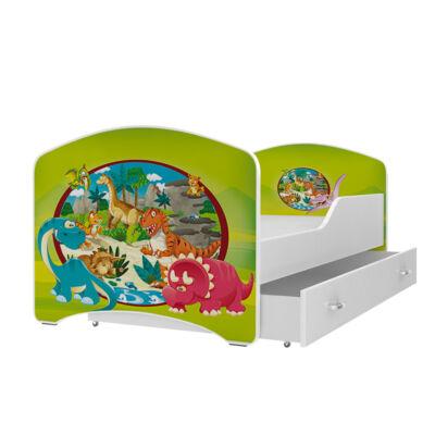 """""""IGOR"""" leesésgátlós gyerekágy ágyneműtartóval - 3 méretben: 60-as"""
