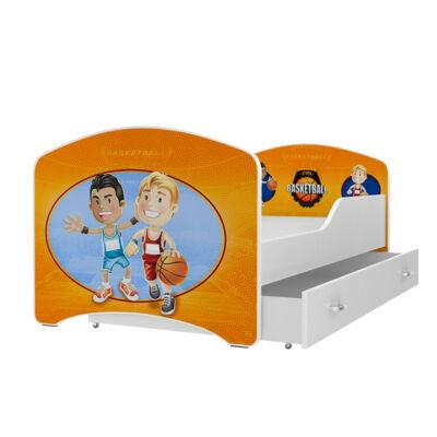 """""""IGOR"""" leesésgátlós gyerekágy ágyneműtartóval - 3 méretben: 61-es"""