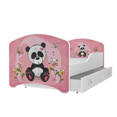IGOR leesésgátlós gyerekágy ágyneműtartóval - 3 méretben: 62-es PANDA