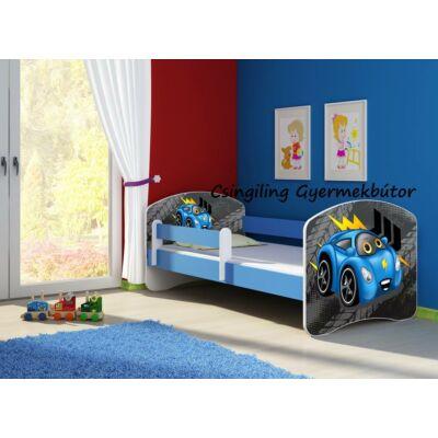 """""""SWEET DREAM"""" leesésgátlós gyerekágy - 3 méretben: 04 Blue car"""