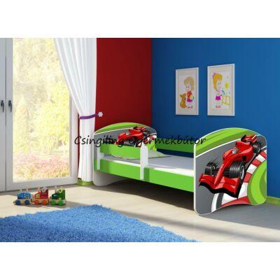 SWEET DREAM leesésgátlós gyerekágy - 3 méretben: 06 Formula 1 FORMA 1