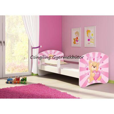 SWEET DREAM leesésgátlós gyerekágy - 3 méretben: 10 Pink teddy bear RÓZSASZÍN TEDDY MACI