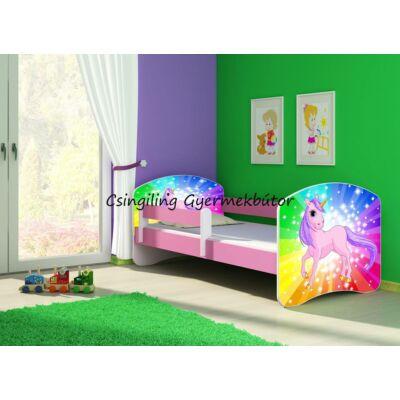 SWEET DREAM leesésgátlós gyerekágy - 3 méretben: 18 Pony on a Rainbow PÓNI SZIVÁRVÁNYON