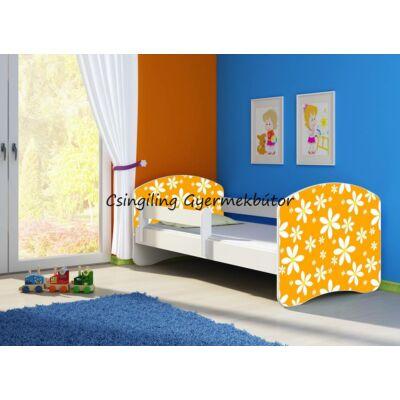 """""""SWEET DREAM"""" leesésgátlós gyerekágy - 3 méretben: 24 Orange Daisy"""