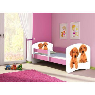 SWEET DREAM leesésgátlós gyerekágy - 3 méretben: 39 Puppies KUTYUSOK