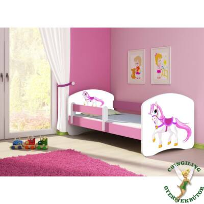 """""""SWEET DREAM"""" leesésgátlós gyerekágy - 3 méretben: 43 Saddle pony"""