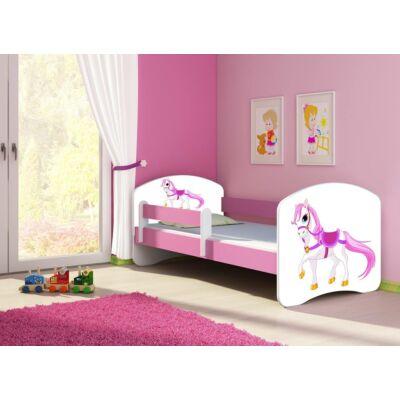 SWEET DREAM leesésgátlós gyerekágy - 3 méretben: 43 Saddle pony PÓNI