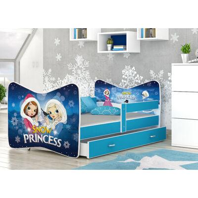 """""""TOMI"""" leesésgátlós gyerekágy ágyneműtartóval - 3 méretben: 63 Snow Princess"""