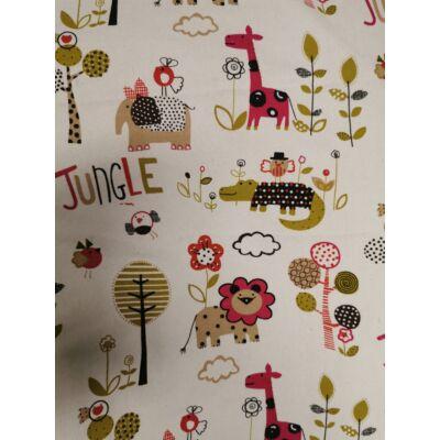 Falvédő: SUNSHINE Pink Jungle 80x160 cm-es KÉSZLETRŐL!!!
