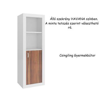 Filip álló szekrény Havana-10 választható mintával