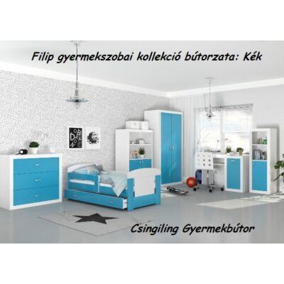 Leesésgátlós FILIP COLOR gyerekágy - 3 méretben: Kék