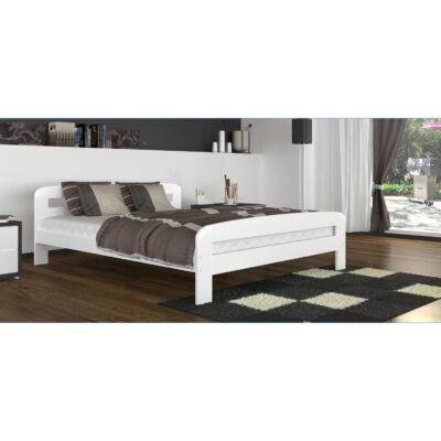 DALLAS franciaágy keret és ágyrács - 4 méretben: Fehér színű