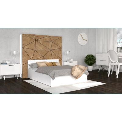 PANAMA PLUS franciaágy keret és ágyrács - 4 méretben: Fehér színű