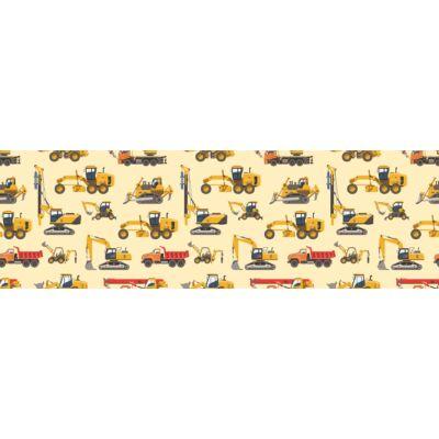 Celebrity prémium eco bőr keretes ágyneműtartós gyerekágy: diamond trucks munkagépes