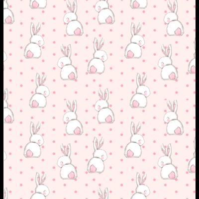 Celebrity prémium gyerekágy 63x150 cm-es fekvőfelülettel: tetszőleges eco bőr keret - DIAMOND Sweet Bunny fekvőfelület