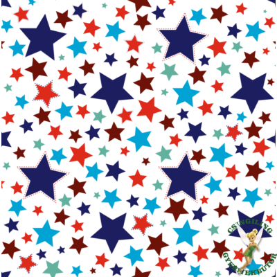 """""""DIAMOND"""" kollekció - RORI kárpitos kanapéágy: Blue Stars - tetszőleges színnel kombinálva"""