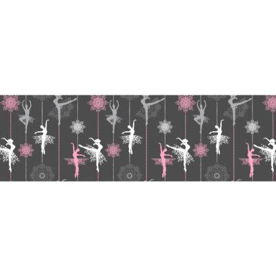 Celebrity prémium gyerekágy 63x150 cm-es fekvőfelülettel: tetszőleges eco bőr keret - DIAMOND Wonderful Balerina fekvőfelület