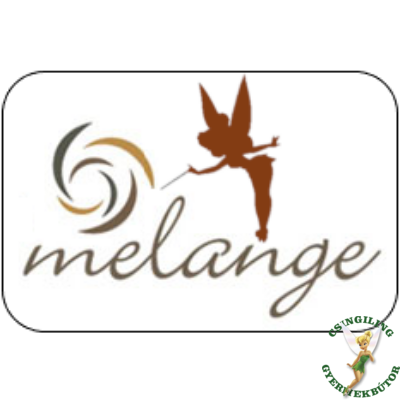 Melange leesésgátlós kárpitos gyerekágy: egyedi színben