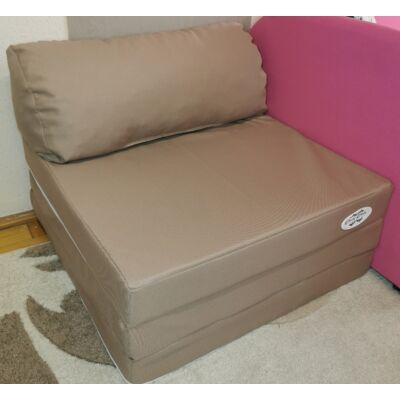 Kihajtható szivacs fotelágy/pótágy ifjúsági méretben: Bézs
