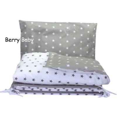 Berry Baby Huzat szett ovisoknak: Szürke-fehér csillagos