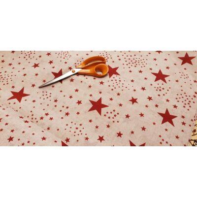 Rori Sunshine ágyneműtartós kárpitos fotelágy: piros csillagos