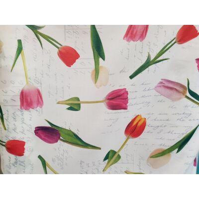 """""""SUNSHINE"""" kollekció - RORI kárpitos kanapéágy: Orchidea - tulipános"""