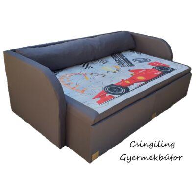 """""""DIAMOND"""" kollekció - RORI kárpitos kanapéágy: Grafit - Formula 1"""