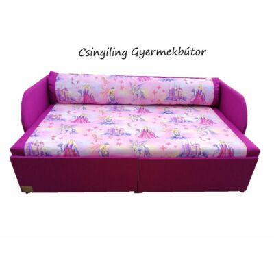 """""""SUNSHINE"""" kollekció - RORI kárpitos kanapéágy: Orchidea - királylányos"""