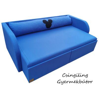 """""""WEXTRA"""" kollekció - RORI kárpitos kanapéágy: Királykék (Mickey fantázia dizájn párnával is kérhető)"""