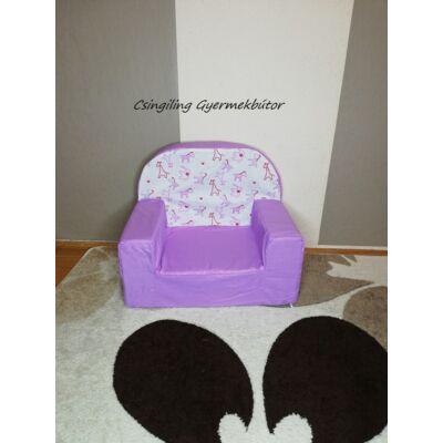Berry Baby Babafotel - klasszikus (0-3 éves korig): Lila - Lila zebrás