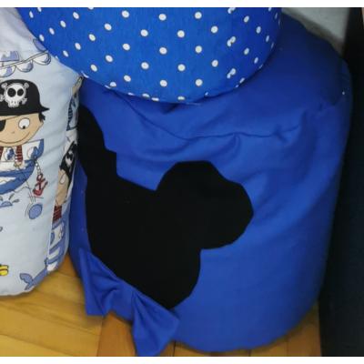 Babzsák puff: Királykék Mickey fantázia
